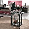 Глобус бар напольный Zoffoli Srl, Италия «Элегантность» (Black) h-90см, d -40см (248-0004), фото 4