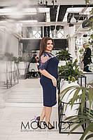 Платье женское большие размеры (цвета) Г03760, фото 1