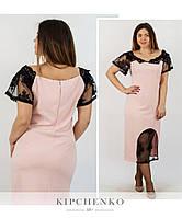 Платье женское большие размеры (цвета) Г03728, фото 1