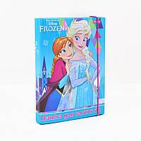 Папка для тетрадей картоная В5 Frozen