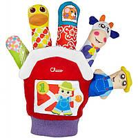 Развивающая игрушка Chicco Рукавичка Ферма (07651.00)
