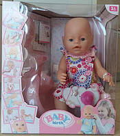 Кукла пупс беби борн 9 функций