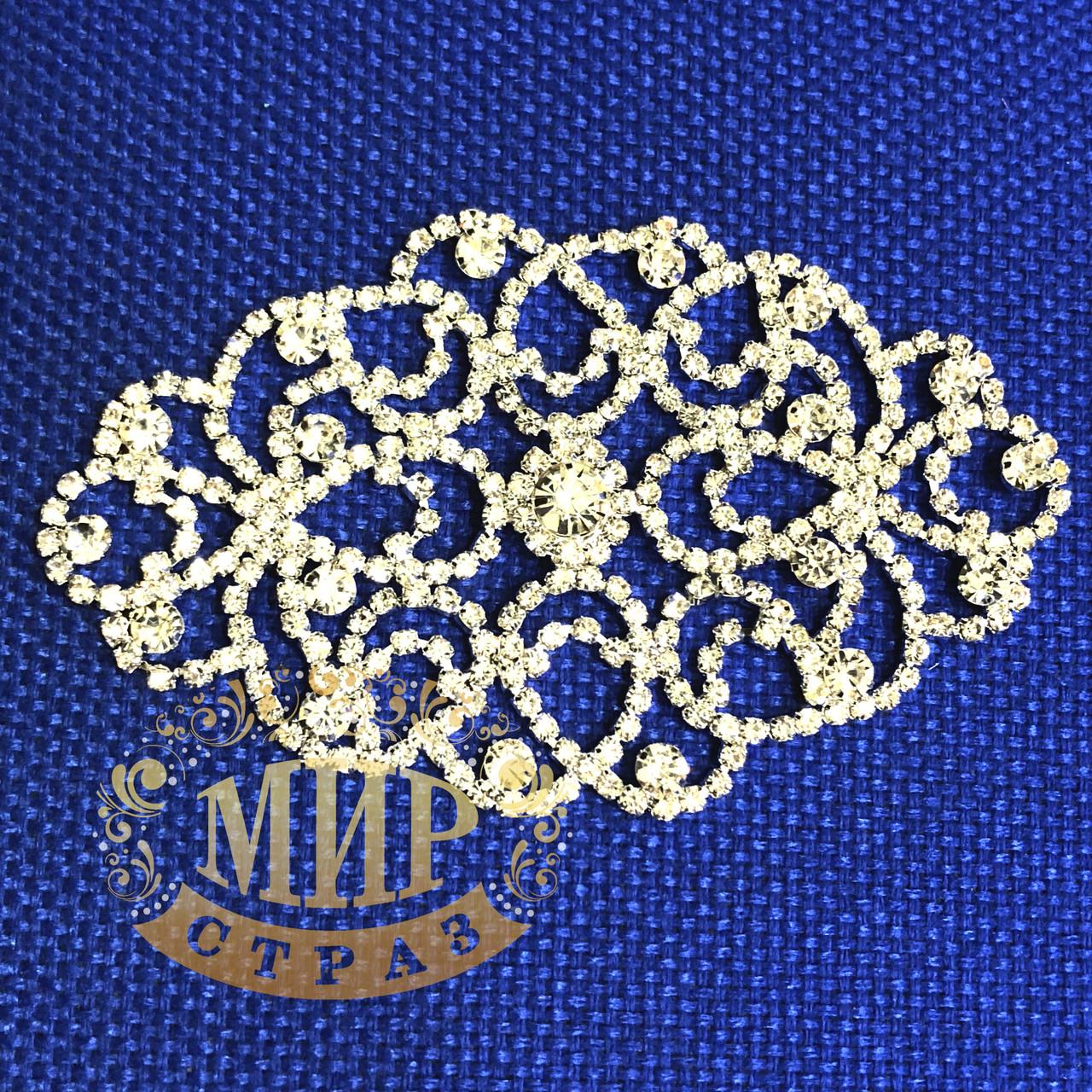 Хрустальный декор, цвет Crystal, размер 11х7,5см, 1 шт