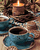 "Картина по номерам ""Вечерний чай"" [40 х 50 см, С Коробкой]"
