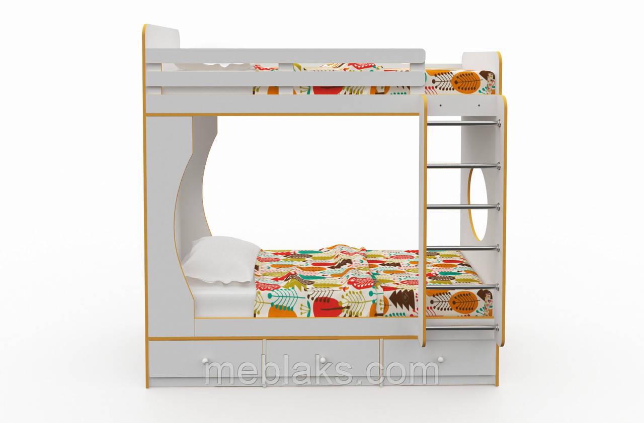 Двухъярусная кровать для детей и подростков «Твин»