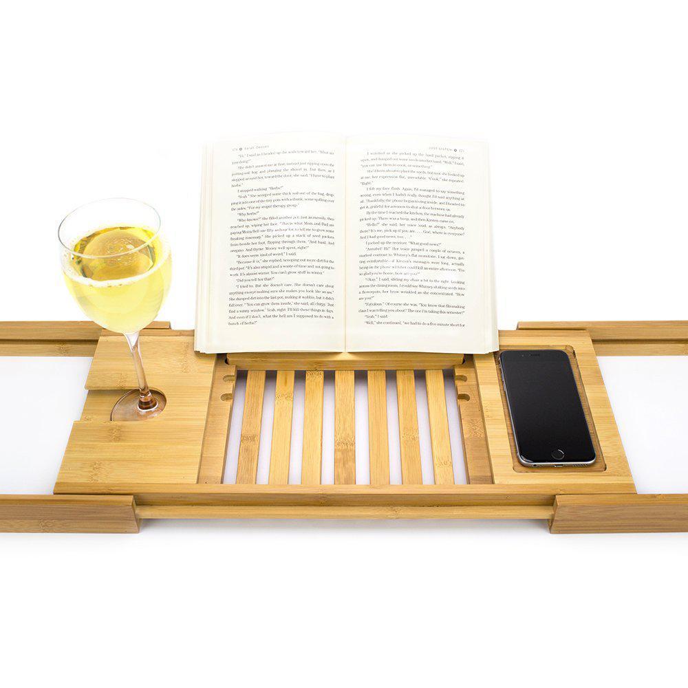 Столик для ванны Bellasentials, бамбуковый