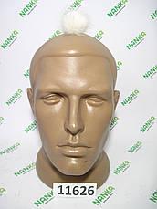 Меховой помпон Норка, Крем, 4 см, 11626, фото 2