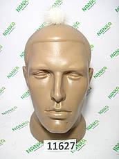 Меховой помпон Норка, Крем, 4 см, 11627, фото 2