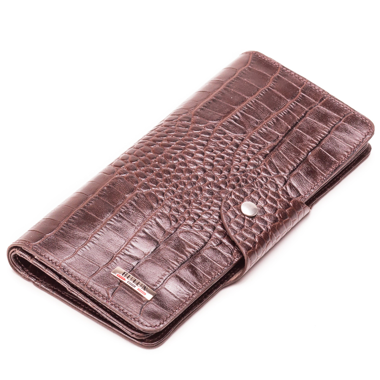 Мужской кошелек бумажник кожаный коричневый BUTUN 645-002-004