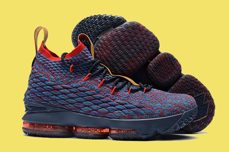 7fa9dae8 Мужские Nike Lebron 15 ep dark/blue/red, цена 1 695 грн., купить в ...