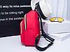 Маленький красный рюкзак из нейлона, фото 2
