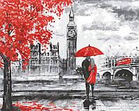 """Картина по номерам """"Прогулка по Лондону"""" [40 х 50 см, С Коробкой]"""