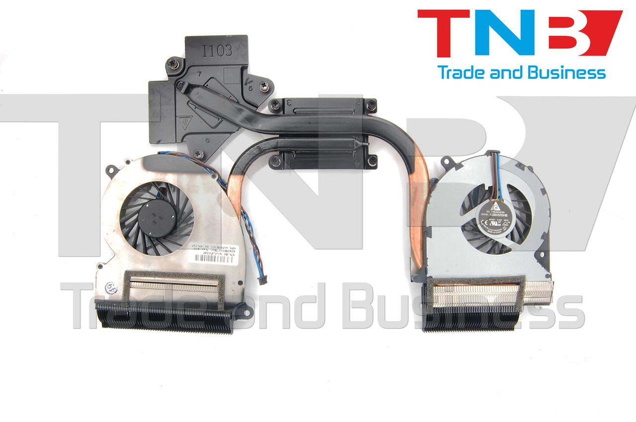 Вентилятор+радиатор HP Envy 17 Envy 17-3000 (6043B0117101 689993-001) ОРИГИНАЛ
