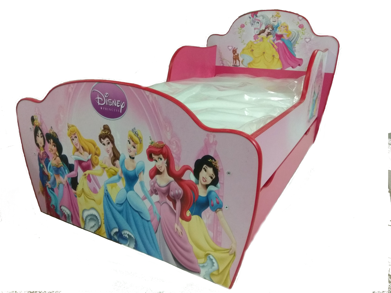 Кровать Принцессы Дисней с ящиком