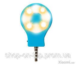 Вспышка для смартфонов RK-07 LED Flash Blue