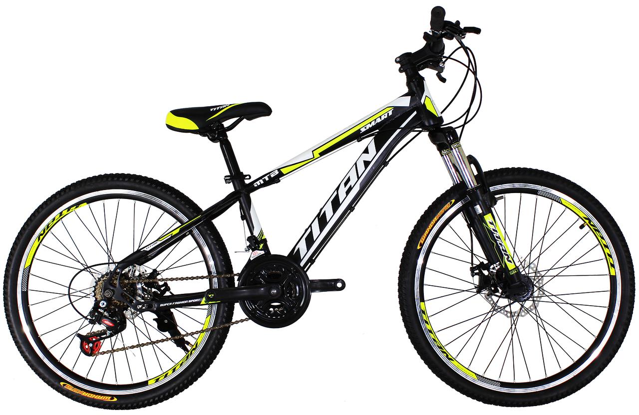 Подростковый горный велосипед 24″ Titan Smart