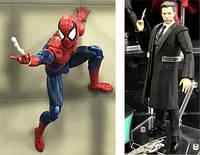 Medicom Toy MAFEX комікс версія Людина павук та Брюс Вейн з фільму Ліга справедливості