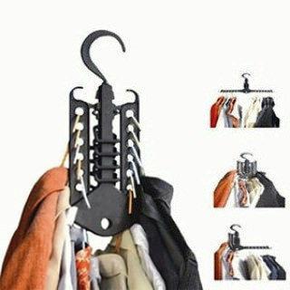 Многофункциональная вешалка для одежды.