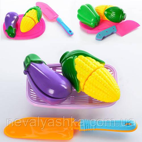 Продукты Овощи Фрукты на липучке досточка нож, RB0993, 004598