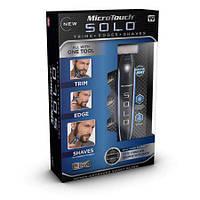 Триммер для носа и ушей Microtouch solo trimmer. Двойной триммер микротач