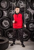 Анорак House Nike, черно-красный мужской весенний/осенний