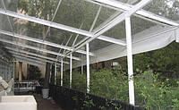 Козырьки для летнего ресторана , кафе, павильоны из пвх ткани
