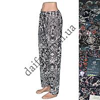 Женские летние брюки 009-3 (р-р 48-50; разные расцветки). Оптом со склада в Одессе.