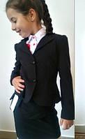 Пиджак два волана детский  мм513, фото 1