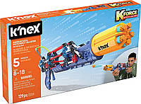 Бластер Barracuda (129 деталей), набор для конструирования, K`nex