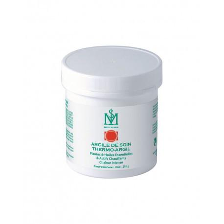 Термо-Аргил маска-глина с растениями, эфирными маслами и прогреванием «Интенсивный разогрев» для тела