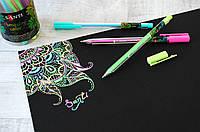 """Гелевые цветные ручки """"Amazing color"""" ТМ Santi"""