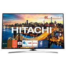 Телевизор Hitachi 43HL15W69 (BPI 1800Гц, Ultra HD 4K, Smart, Dolby Digital Plus 2x10Вт, HDR, DVB-C/T2/S2), фото 2