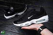 Мужские кроссовки Nike Air TN+ черные  топ реплика , фото 3