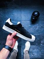 Мужские Кроссовки Adidas Y-3 Super Knot (Core Black Реплика ААА+