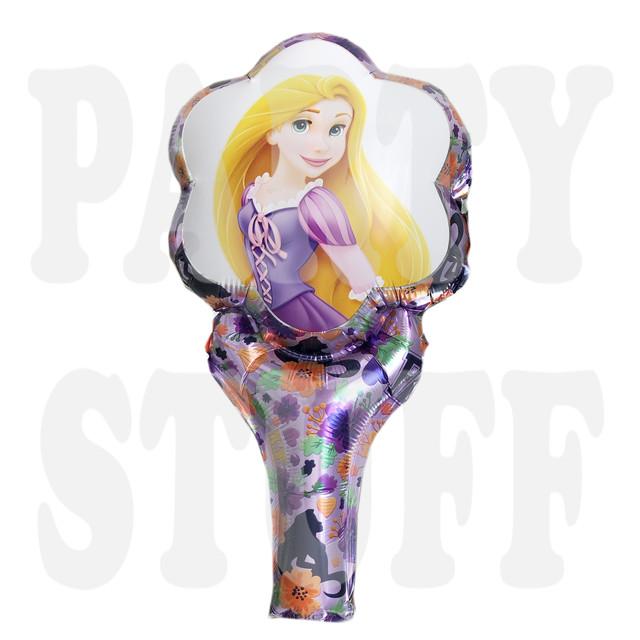 Шар фольгированный с ручкой Принцесса