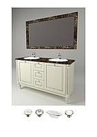Комплект мебели в ванную (тумба, зеркало, столешница)