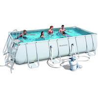 Каркасный бассейн Bestway 56466 (549х274х122) с песочным фильтром, фото 1