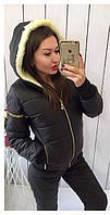 Теплый костюм куртка на овчине  амак17, фото 1