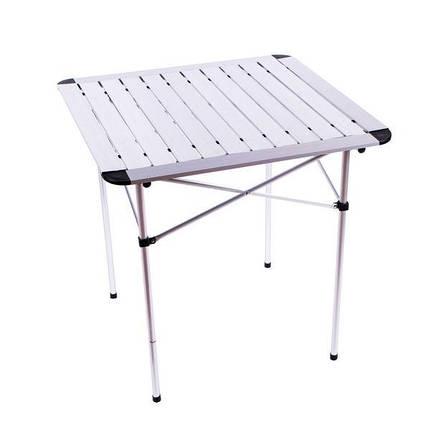 Складной стол туристический Sanja SJ-C02 раскладной кемпинговый стол 60*15*15 размер в чехле, фото 2