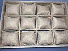 """Планшет ювелирный """"Ячейки с подушками плетёнка 35 х 24 х 5 см"""", фото 2"""