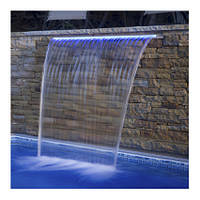 Emaux Стеновой водопад EMAUX PB 900-230(L) с LED подсветкой