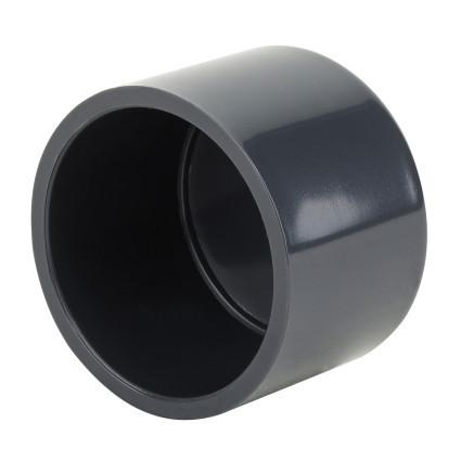 Era Заглушка ПВХ ERA клеевая, диаметр 125 мм.