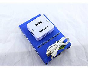 Конвертер HDMI to VGA \ vga 001, фото 2
