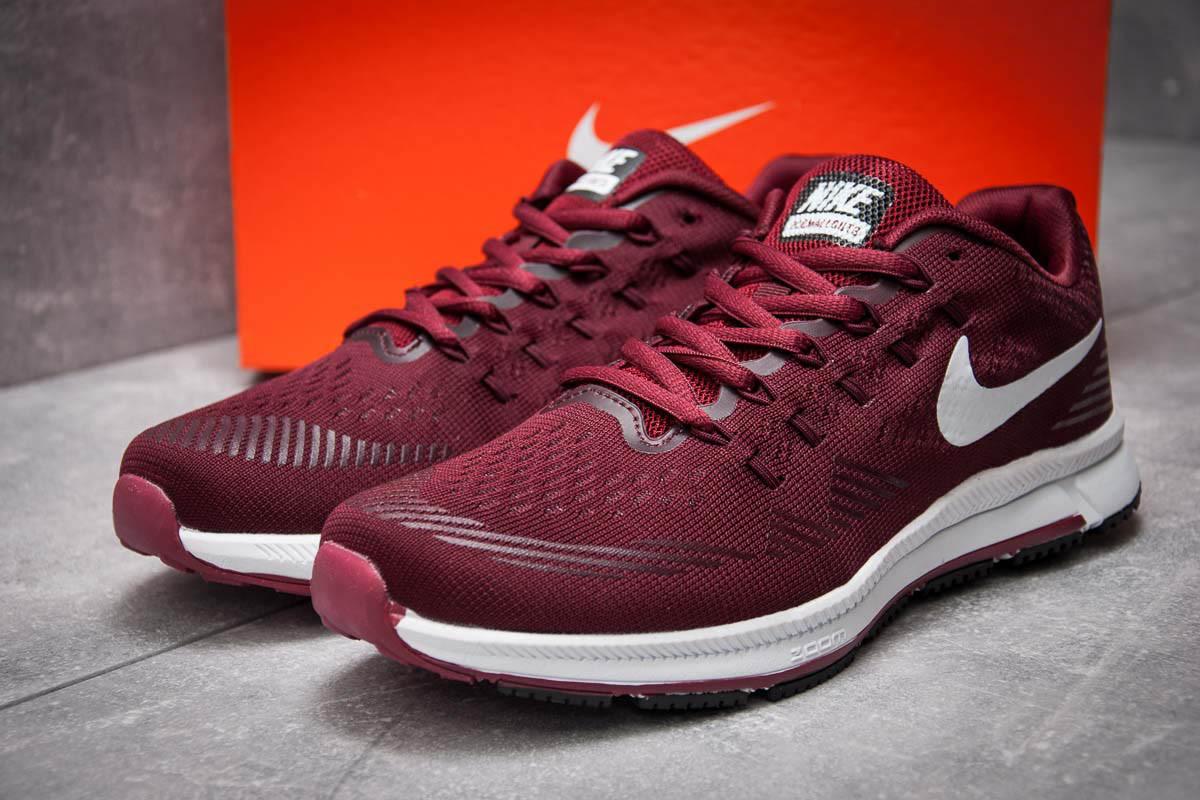 Кроссовки мужские в стиле Nike Zoom All Out 3, бордовые (12731),  [  4