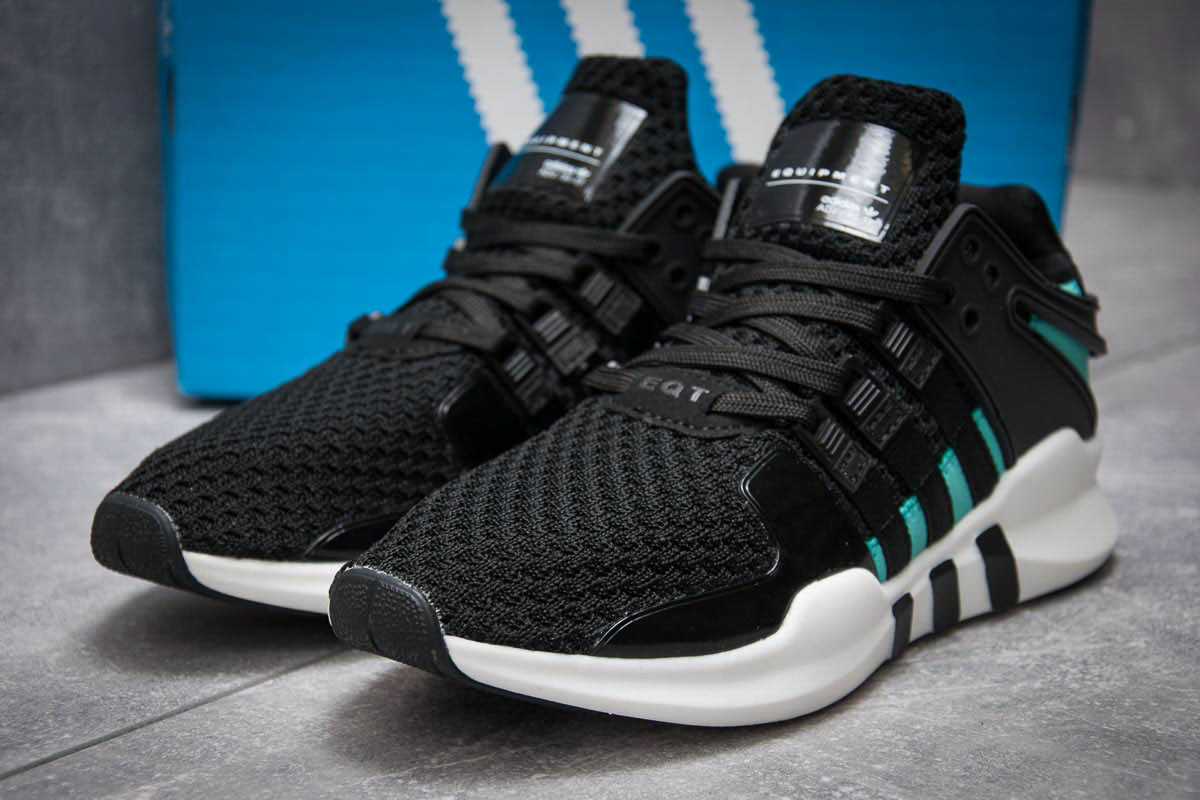 Кроссовки мужские в стиле Adidas Equipment, черные (12743),  [  42 (по