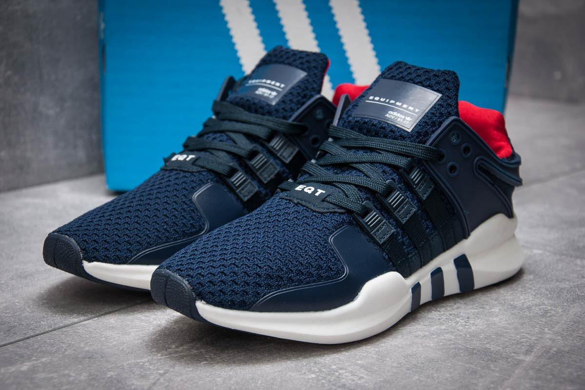 Кроссовки мужские в стиле Adidas Equipment, темно-синий (12745),  [  4