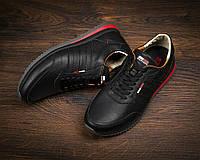 Мужские кожаные кроссовки Tommy Hilfiger (7530-1)