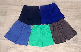 Детские шорты (полотно - лен)