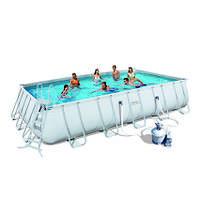 Bestway Каркасный бассейн Bestway 56257 (671x396x132) с песочным фильтром