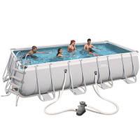 Каркасный бассейн Bestway 56465 (549x274x122) с картриджным фильтром, фото 1